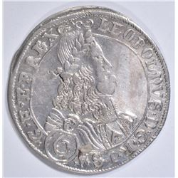 1673/2 SILVER 6 KREUZER HOLY ROMAN EMPIRE