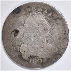 1805 BUST DIME AG