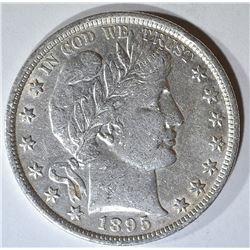 1895 BARBER HALF DOLLAR AU