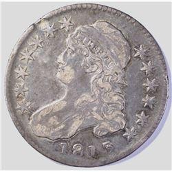 1813 BUST HALF DOLLAR  XF