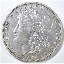 1894-O MORGAN DOLLAR, XF+