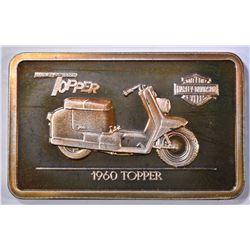 1960 TOPPER HARLEY DAVIDSON SILVER BAR