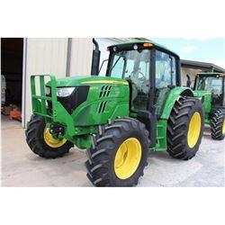 2013 JOHN DEERE 6125M FARM TRACTOR