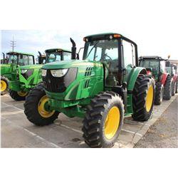 2013 JOHN DEERE 6105M FARM TRACTOR