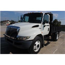 2009 INTERNATIONAL 4300 FLATBED TRUCK