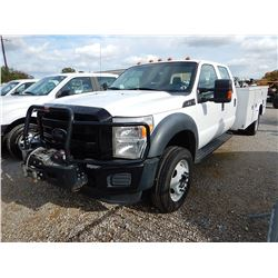 2012 FORD F550 SERVICE TRUCK