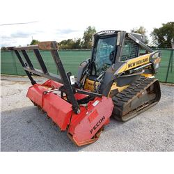 2007 NEW HOLLAND C190 SKID STEER LOADER