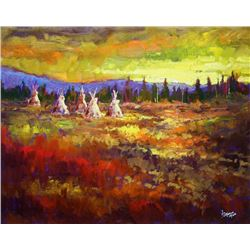 Neil Patterson, Camp at Sunset