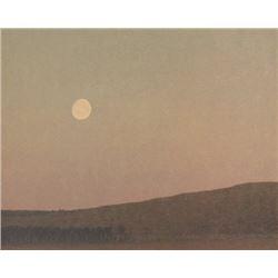 Russel Chatham, Fall Moon Rising