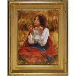 Trent Gudmundsen, Girl Eating Apple
