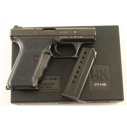 Heckler & Koch HK P7 M8 9mm SN: 16-121510