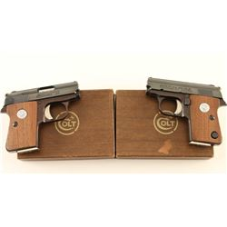 Consecutive Set of Colt Junior .25 Pistols