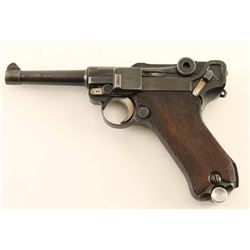 Mauser 'S/42' P.08 Luger 9mm SN: 6186t