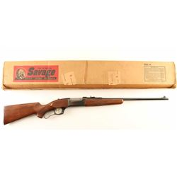 Savage Model 99-F .300 Sav SN: 1028736
