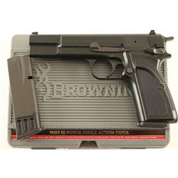 Browning Hi-Power 9mm SN: 511MX50313