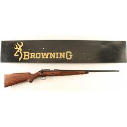 Browning Model 52 .22 LR SN: 02170NZ496