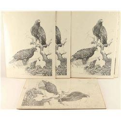 Lot of 6 Prints by Jim Branscum