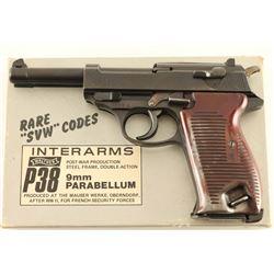 Mauser 'byf 44' P-38 9mm SN: 7223g