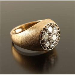 Masculine Mens Diamond Ring Set