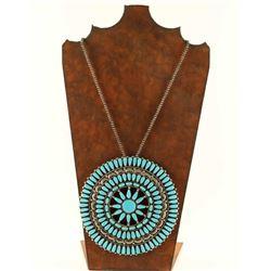 Large Navajo Pendant/Pin