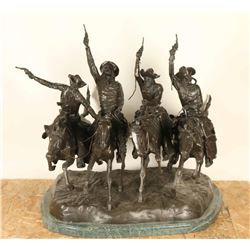 Large Bronze Casting by Frederic Remington