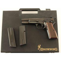 Browning Hi-Power Capitan 9mm SN 245NX80075