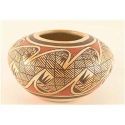 Mini Polychrome Hopi Pot