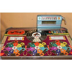 Evans Horse Racing Console Slot Machine