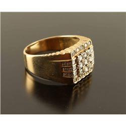 Handsome Mens Diamond Ring Set