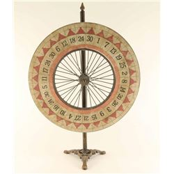 Vintage Gambling Wheel