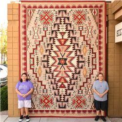 Huge Navajo Teec Nos Pos Style Rug