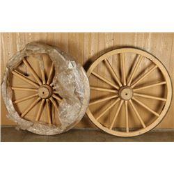 Custom Cannon Carriage Wheels