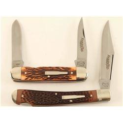 Lot of 2 Remington Bullet Knives