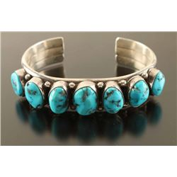High Quality Navajo Turquoise Cuff