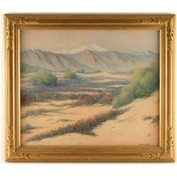 Original Pastel on Paper by Harry Linder
