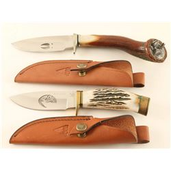 Lot of 2 Limited Edition Buck Knives