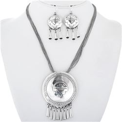 Sterling Silver Native American Necklace