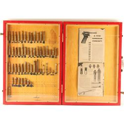Rifle & Pistol Ammunition Display
