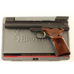 Browning Buck Mark .22 LR SN: 655NR12804