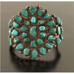 Large Navajo Cluster Bracelet