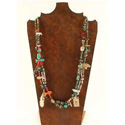 Beaded Treasure Necklace