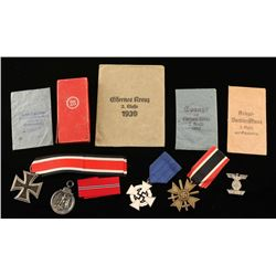 Set of German WWII Medals