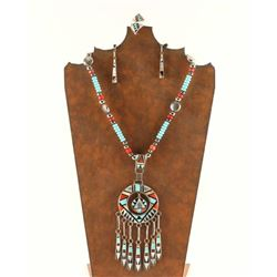 Zuni Inlaid Jewelry Set