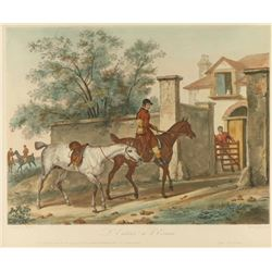 Colored Lithograph by Carle Vernet