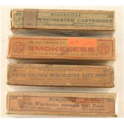 Vintage .38-56 Winchester Ammo Lot