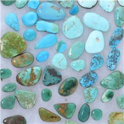 Lot 1500 Carats Assorted Turquoise Cabs