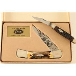 Lot of 2 Case XX Pocket Knives