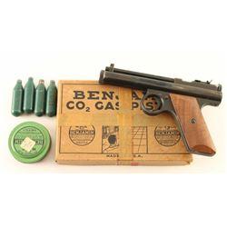 Benjamin No. 252 Air Pistol .22 Cal