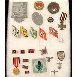 Mixed Lot of Original 3rd Reich Insignia