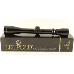 Leupold Vari-X II 3x9 Scope
